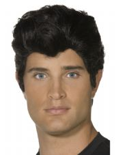 1950's Grease Danny Wig In Black
